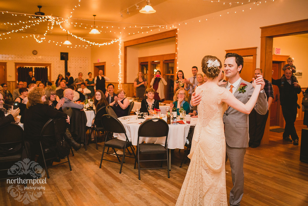 Round Lake Hall Wedding British Columbia