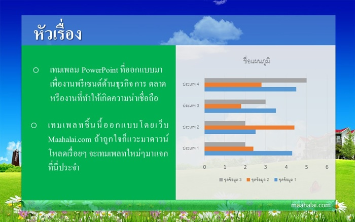 powerpoint 2013 template by maahalai.com