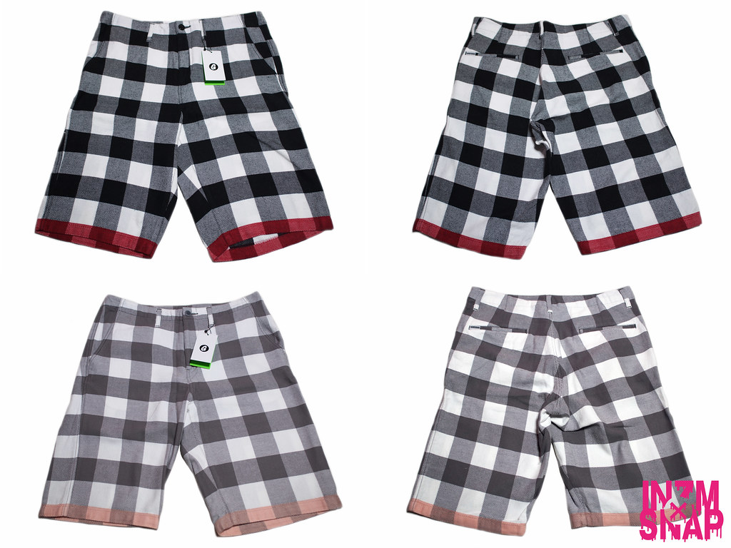 GOODENOUGH | BUFFALO LINE SHORTS