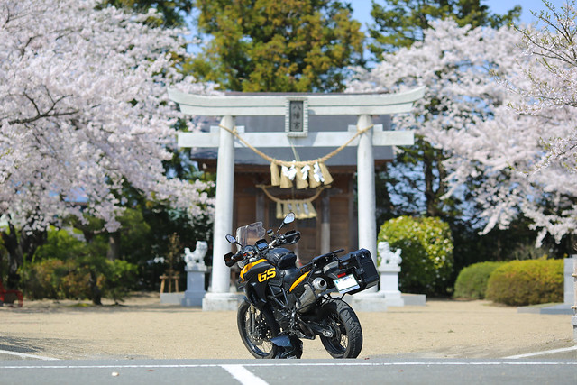 F800GS 20150416 大河原鳴子ツーリング