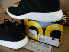 adidas Pure Boost men SIZE 11.5 (Core Black M20483) Yeezy