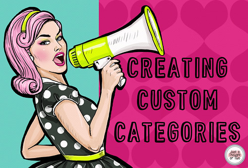 Help Your Buyers with Custom Categories - Create Categories