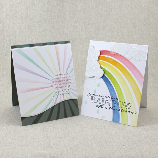Sunshine & Rainbows Cards