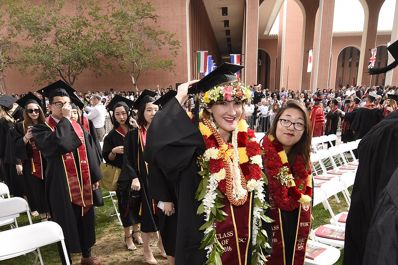 133rd Commencement Ceremony 2016 at USC