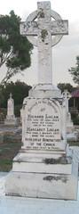 Logan head-stone St Joseph's cemetery Willunga