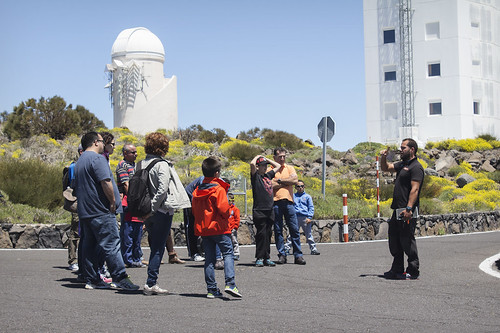 Guided visit of the Teide Observatory especially for families