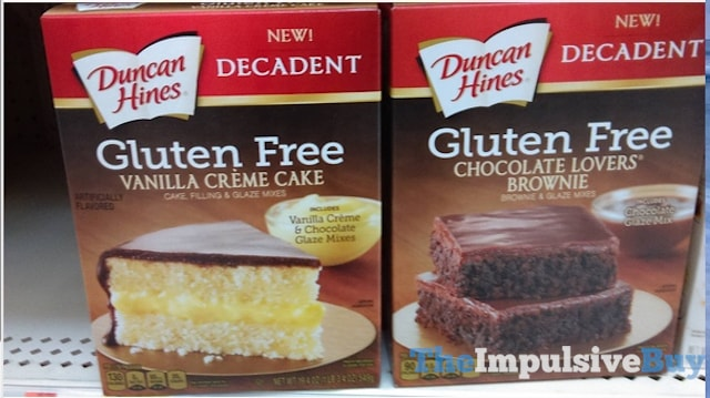 Duncan Hines Decadent Gluten Free Vanilla Creme Cake