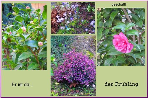 Frühlingscollage