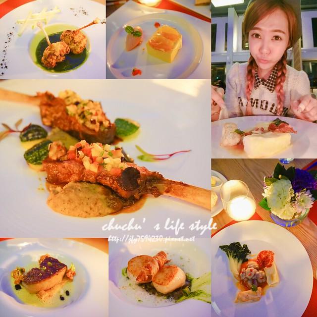 台中Beluga法式餐廳/泳池餐廳 全新春季菜單