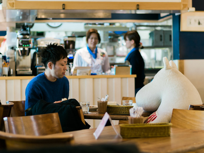 At Moomin Bakery & Café, you are are never alone.