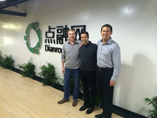 Marc, Soul & Scott at the Dianrong office