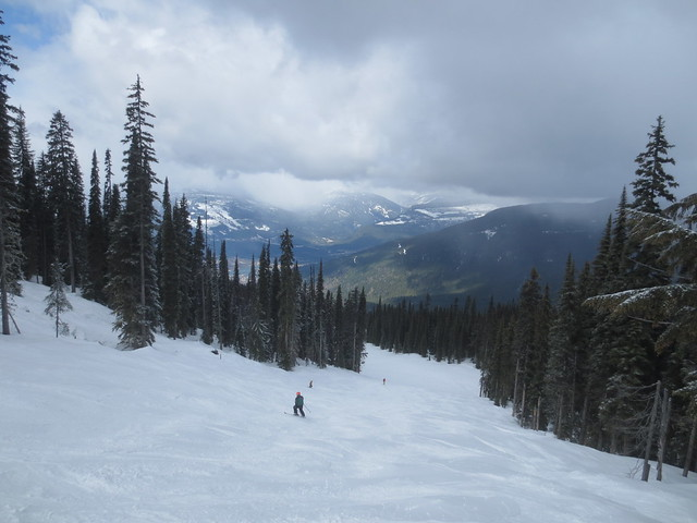 Skiing at Revelstoke