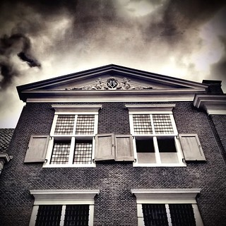 Old buildings remain.. #iphoneography #netherlands #dutch #iphone5s #hoorn #igersholland #jj_sombre #blackandwhiteisworththefight #ig_artistry #snapseed #ampt_community #the_iphone_arts #bnw_life #insta_pick_bw #bws_worldwide #bw #bw_scenes #myskynow #mys