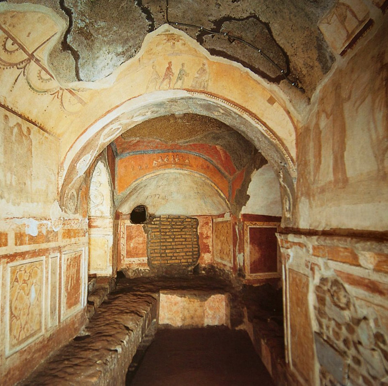 Greek Chapel, Catacomb of Priscilla