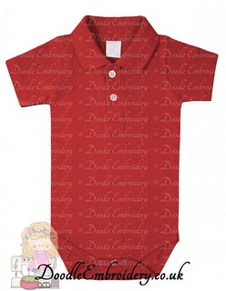 Polo Body Suit - Red copy