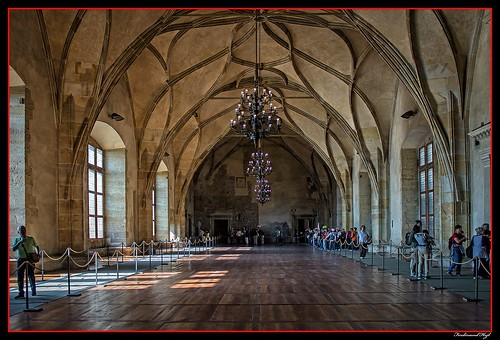 Praha_Vladislavský sál_Prague_Vladislav Hall