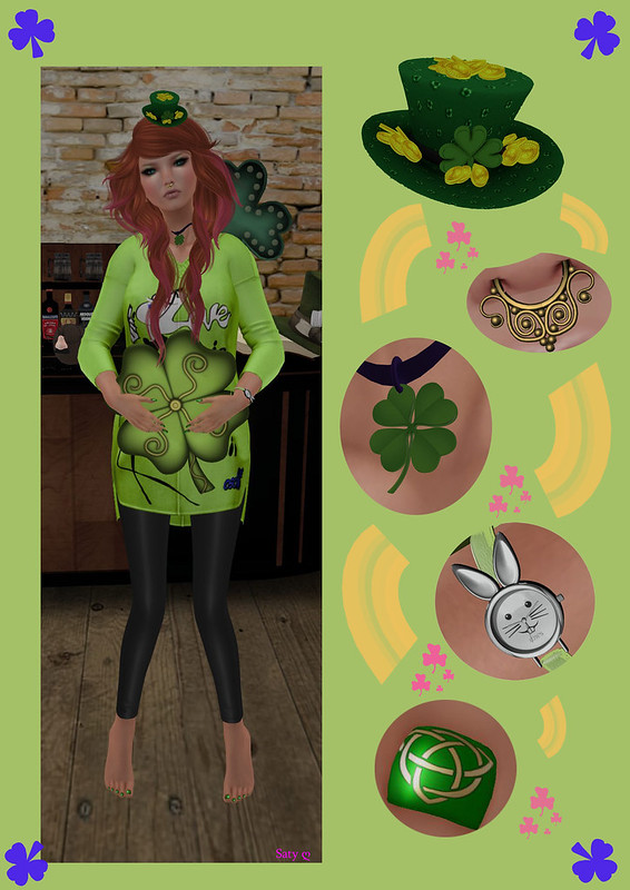 022 - Lucky St Patricks Day from Brookie & Saty ღ