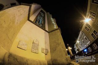 Villach bei Nacht