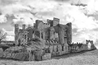 D'arcy's Castle Near Clifden, Ireland