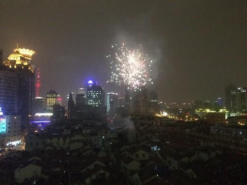 Fireworks outside my window