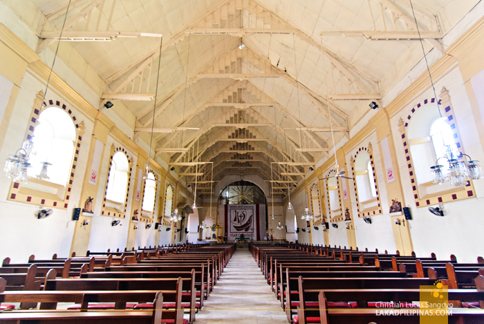 Tuguegarao Cathedral Old Interior