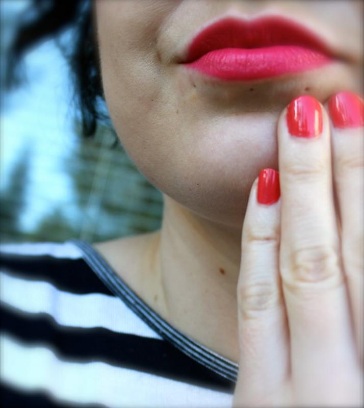 MAC Impassioned Lipstick & Nail Lacquer