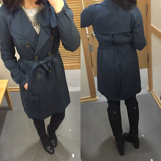 LOFT Relaxed Trench, size XXSP