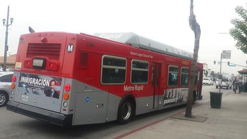 LACMTA Metro Rapid New Flyer C-40LF #5384