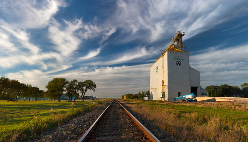 canada canon track afternoon elevator grain railway manitoba prairie mb niverville artel eos50d