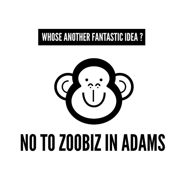 No to a Zoo in Adams