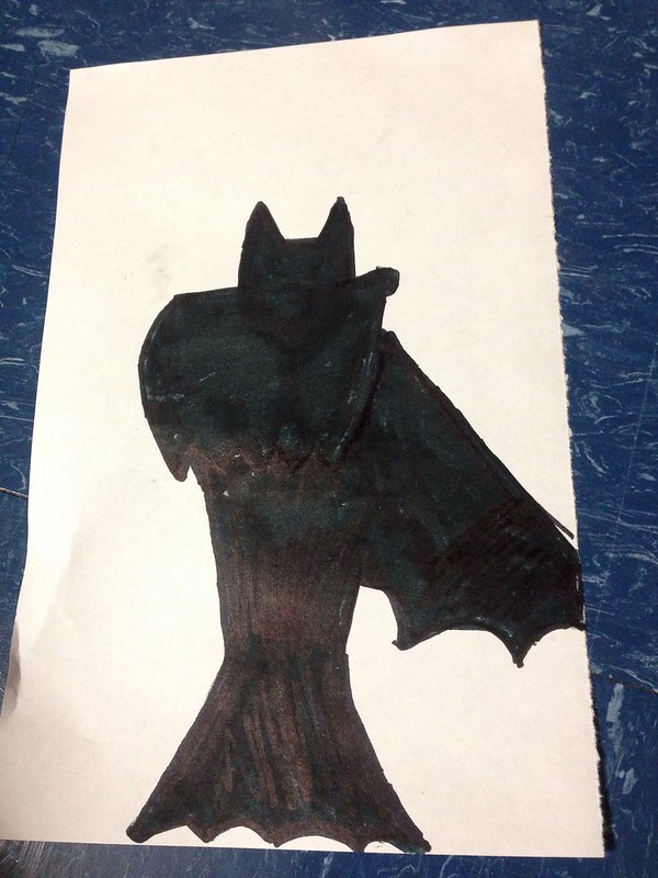 15 second batman sketch