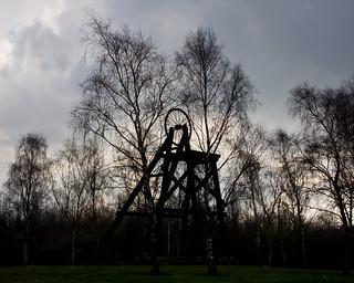 Coal mining memorial
