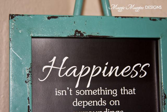 Happiness Chalkboard Printable