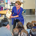 State Rep. Themis Klarides visits Turkey Hill School students in mid-March to participate in Read Across America day.