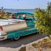 Classic Car on the Beach in Palmetto, Florida #HDR #HighDynamicRange #Florida #Beach #Palmetto #EmersonPoint #Jazzersten #SunshineState #Car #ClassicCar #JessButtery #JessButteryPhotography #Convertables