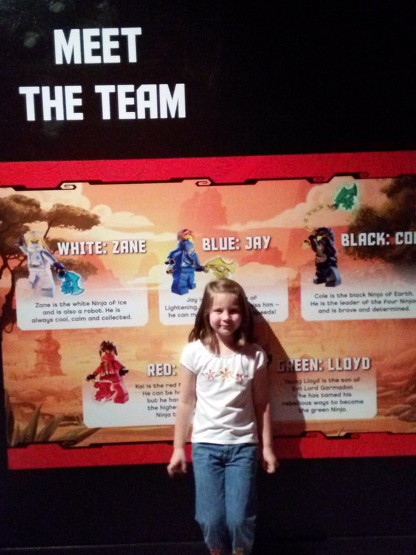 MEET THE TEAM NINJAGO LEGOLAND