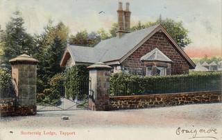 postcard - scotscraig lodge tayport fife
