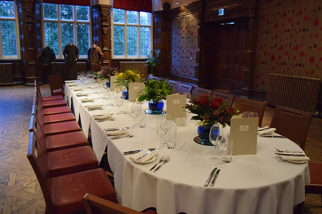 Dining in the Great Hall at Jesmond Dene House