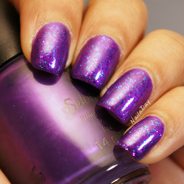 NailaDay: Salon Perfect How Dare You! with Pure Ice Cheatin'