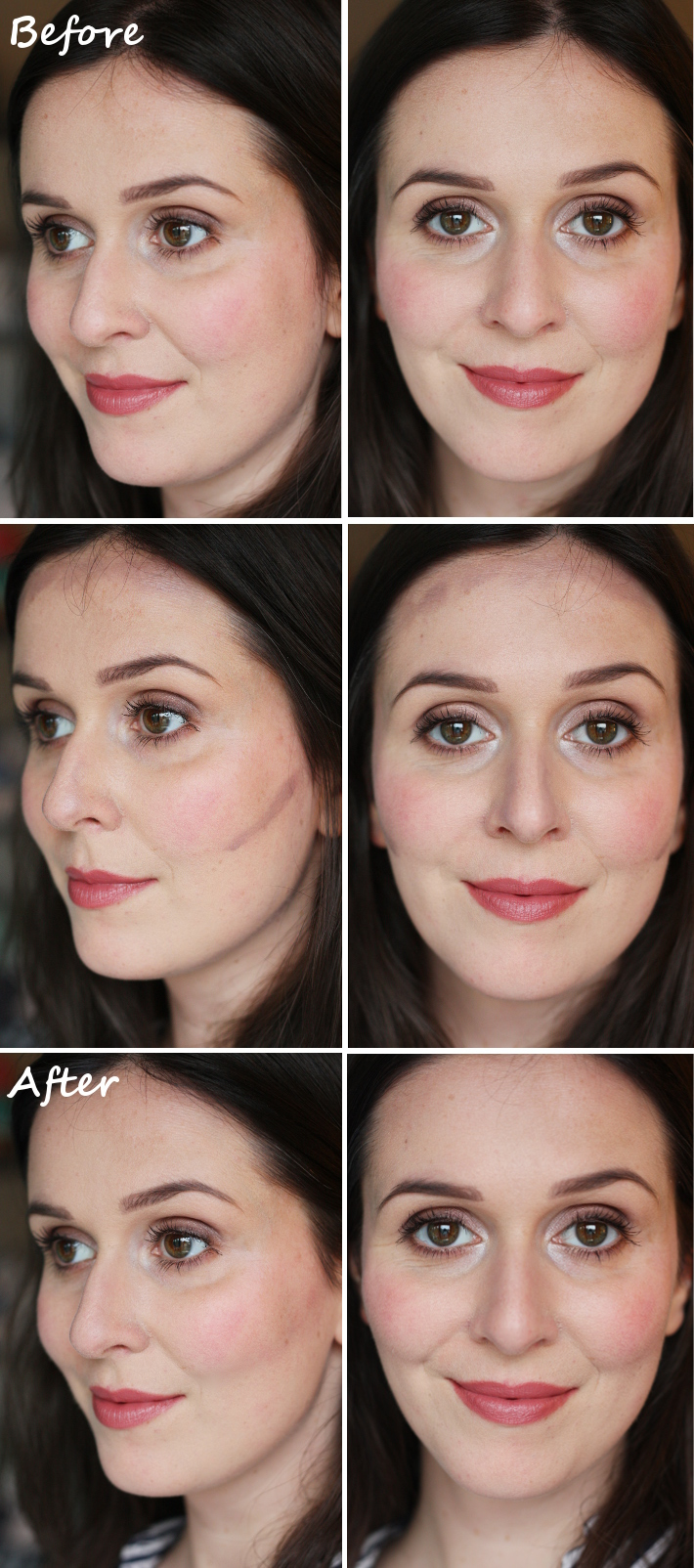 Contouring for pale, cool toned skin: review, swatches and tutorial