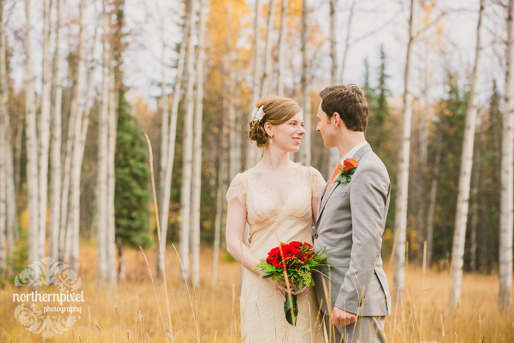 Fall Wedding near Smithers British Columbia Wedding Photographer