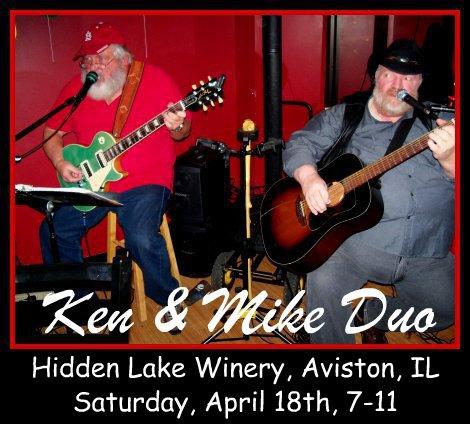 Ken & Mike Duo 4-18-15