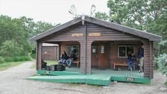 Brooks Lodge - recepcja i bar