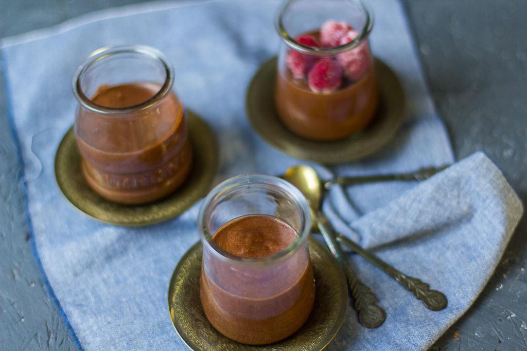 Karamell Schokoladenmousse