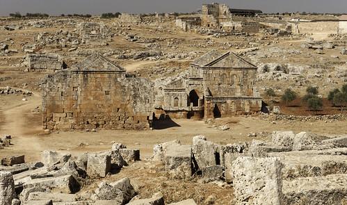 """art arte syria towns byzantine città siria bizantina """"dead serjilla morte"""" """"città towns"""" bizzantine"""