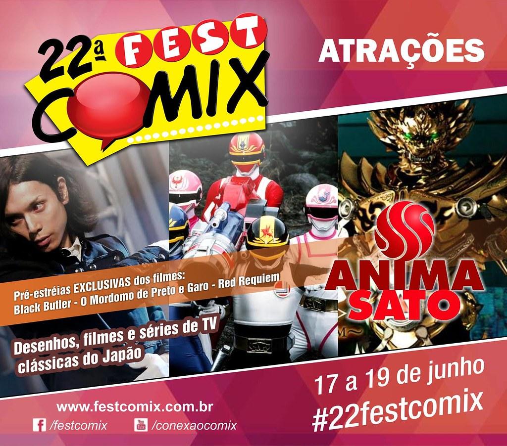 1ª Mostra Anima Sato é um dos destaques da 22ª Fest Comix