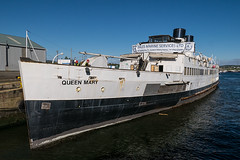 TS Queen Mary returns to the Clyde