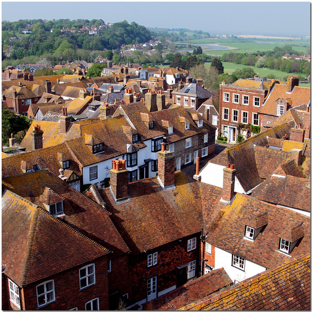 Rye, View from Church Tower