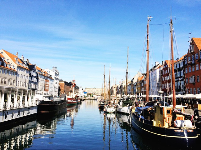 Copenhagan, Denmark - Nyhavn Canal View | Girls Guide To Scandinavia