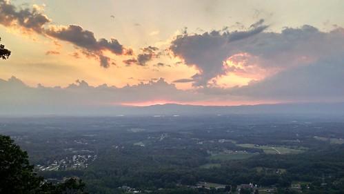 sunset cloud mountain salem burkemont